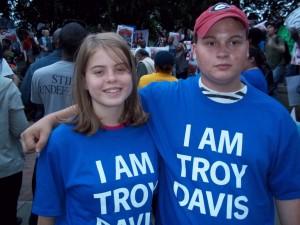Troy Davis Supporter 2