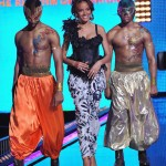 KERI HILSON, WHIZ KHALIFA, AND LLOYD PERFORMS AT BET'S RIP THE RUNWAY 2011