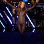 Jennifer Lopez Goes Naked for the New Year's — Well Sort of?