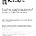 Monica Says Bye Bye to Twitter and Shannon Brown's Baby Mama Drama!