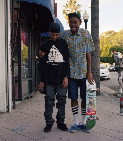 Tyler the Creator's Skateboard Swag - Get the Look ...