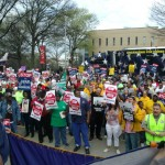 Hundreds Convene in Atlanta For Senate Bill 469 Protest Rally!