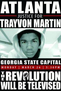 trayvon martin protest atlanta