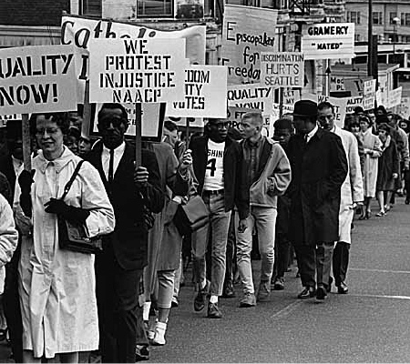 an analysis of the civil rights movement after the hardships of slavery in the united states of amer