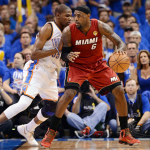 NBA Finals: Thunder Roars Past Miami Heat in 1st Game of Finals in 105-94 Victory (photos inside)