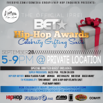 Special Announcement: The Pre-BET Hip Hop Awards Private Celebrity Gifting Suite Today In Atlanta