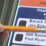 Oh Hell Naw!! Woman Casts Early Vote For @BarackObama and Machine Registers it for Mitt Romney