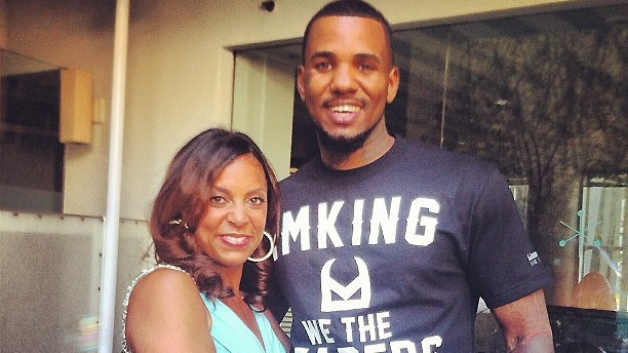 Rapper Game and wife Tiffney
