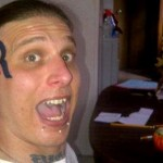 "You Big Dummy! Man With Romney Logo Tattooed On His Face Says He's ""Disappointed"""