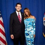 Publicity Stunting As @Realstacydash Poses For A Picture With @PaulRyanVP