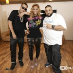 """Exclusive!! @TRINArockstarr Brings Out @FrenchMontana, @DJKhaled, @BustaRhymes & More At """"Back to Business"""" Listening Session thanks @ExclusiveAccess"""