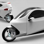 "Introducing The Future of Cars: The Amazing Electric ""Half Car/ Half Motorcycle"" Set To Release In 2014!"