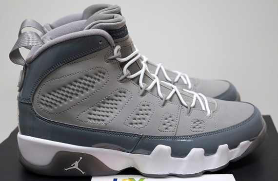 """low priced e3a64 70fb7 ... Air Jordan 9 Retro """"Anthracite"""" Shoes can now be purchased at major  retailer such as FinishLine, DTLR, Footlocker etc ..."""