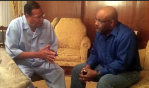 Min. Louis Farrakhan and Dr. Boyce Watkins