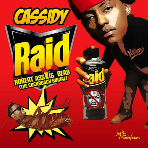 cassidy diss track raid