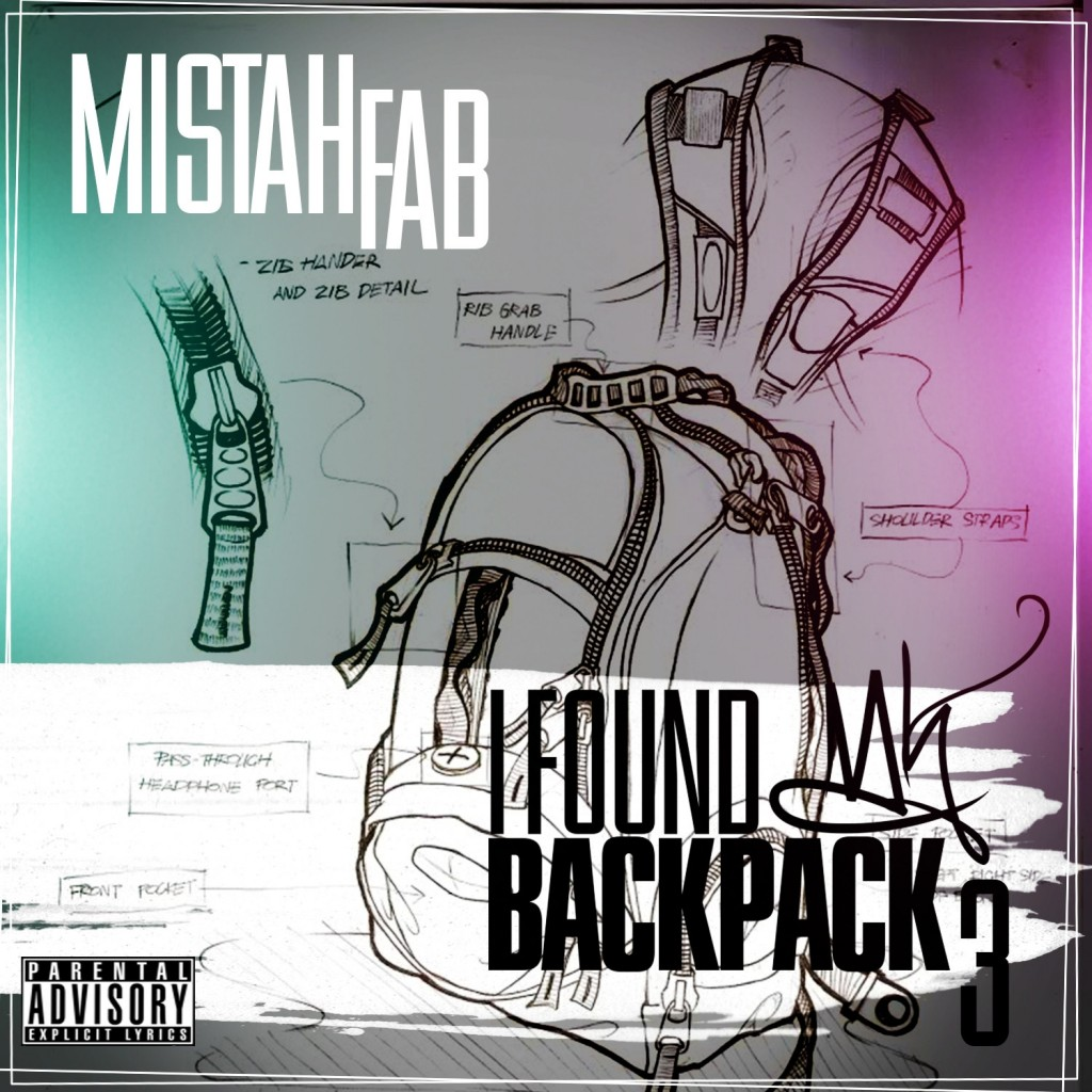 Mistah F.A.B. backpack