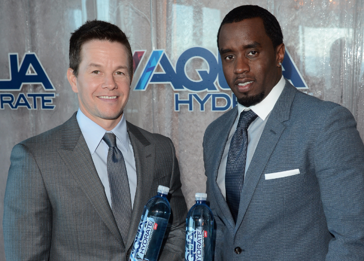 diddy and mark wahlburg