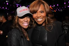 K.Michelle and Mona Scott