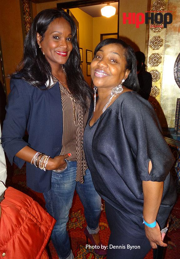 Tameka Raymond and sister
