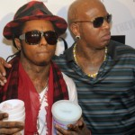 A Toast to You!  Birdman Allegedly Throws Drink at Lil Wayne While on Stage