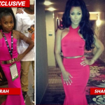 Fashion Alert Fail: Floyd Mayweather's Baby Mama Pissed at His Girlfriend for Copying Daughter's Swag