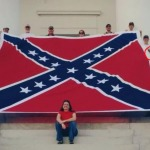 That's Just Racist! Group Hangs Confederate Flag Above Interstate 95