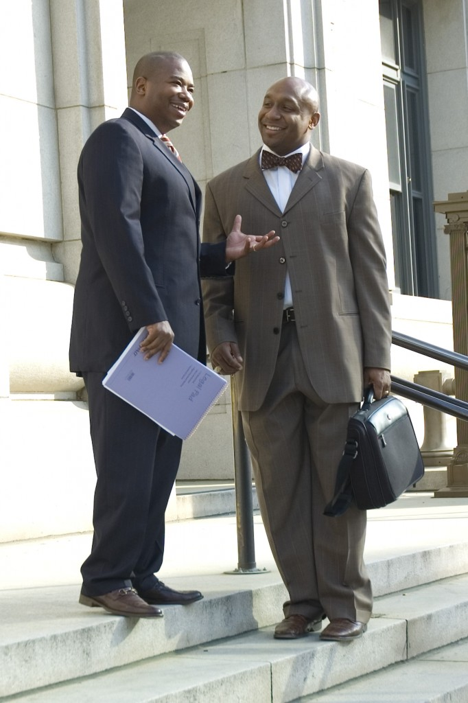 Attorney Bozeman-left Attorney Davis-right