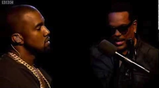 Kanye West with Charlie Wilson