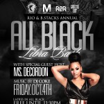 "Special: Faculty Entertainment's Bosses Maurio ""Rio"" Mitchell and Rapper B Stacks Celebrate Annual All Black Affair Birthday Bash"