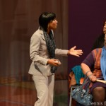 Terri J. Vaughn stars as Sherelle in 'da Kink in My Hair'/Photo by Dennis Byron