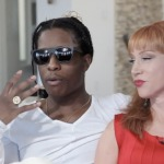 Asap Rocky and Comedian Kathy Griffin Get Freaky on Her Couch (video inside)