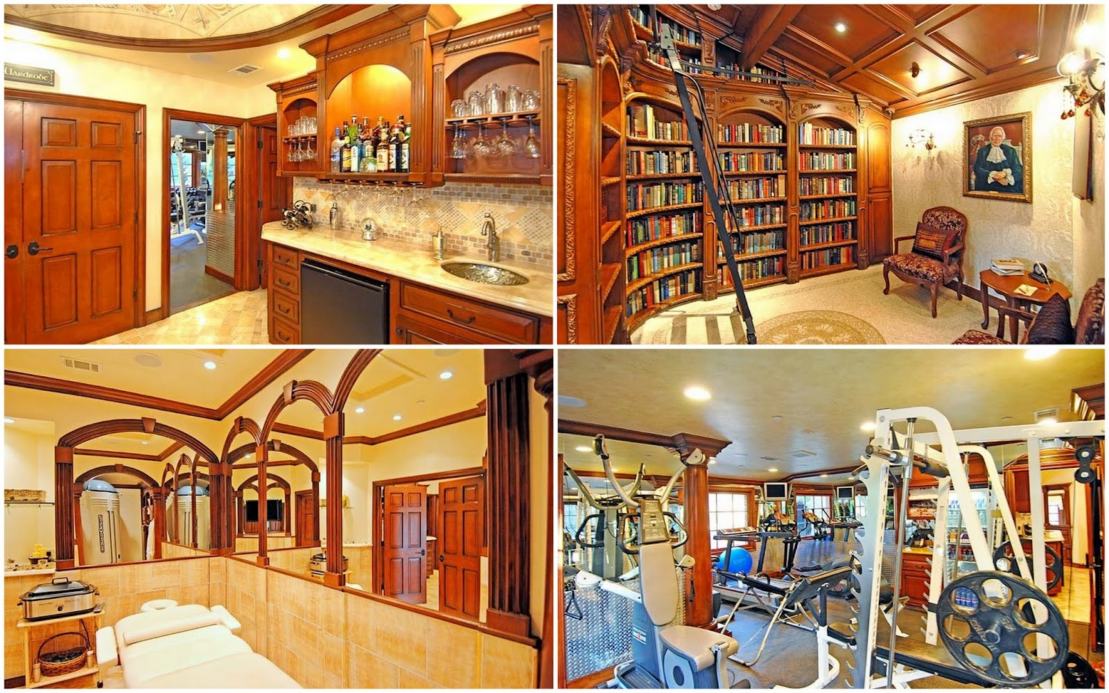 Awesome Celebrity Home Gyms