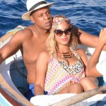Turn Up! Watch Beyonce Jump Off Yacht Into Ocean