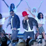 Pharrell Williams & Friends Introduce 2014 NBA All-Star Game