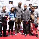 The Game Hosts Breese Youth Film Festival At FOX Studios