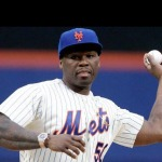 That's Not Gangsta! 50 Cent Throws Wild First Pitch To Start Mets/Pirates Game