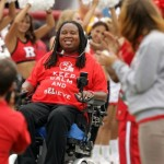 Eric LeGrand Delivers Address At Rutgers Commencement