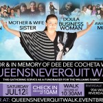 [Public Service Announcement] Queens Never Quit Memorial Walk in Honor of PR Veteran Dee Dee Cocheta Williams