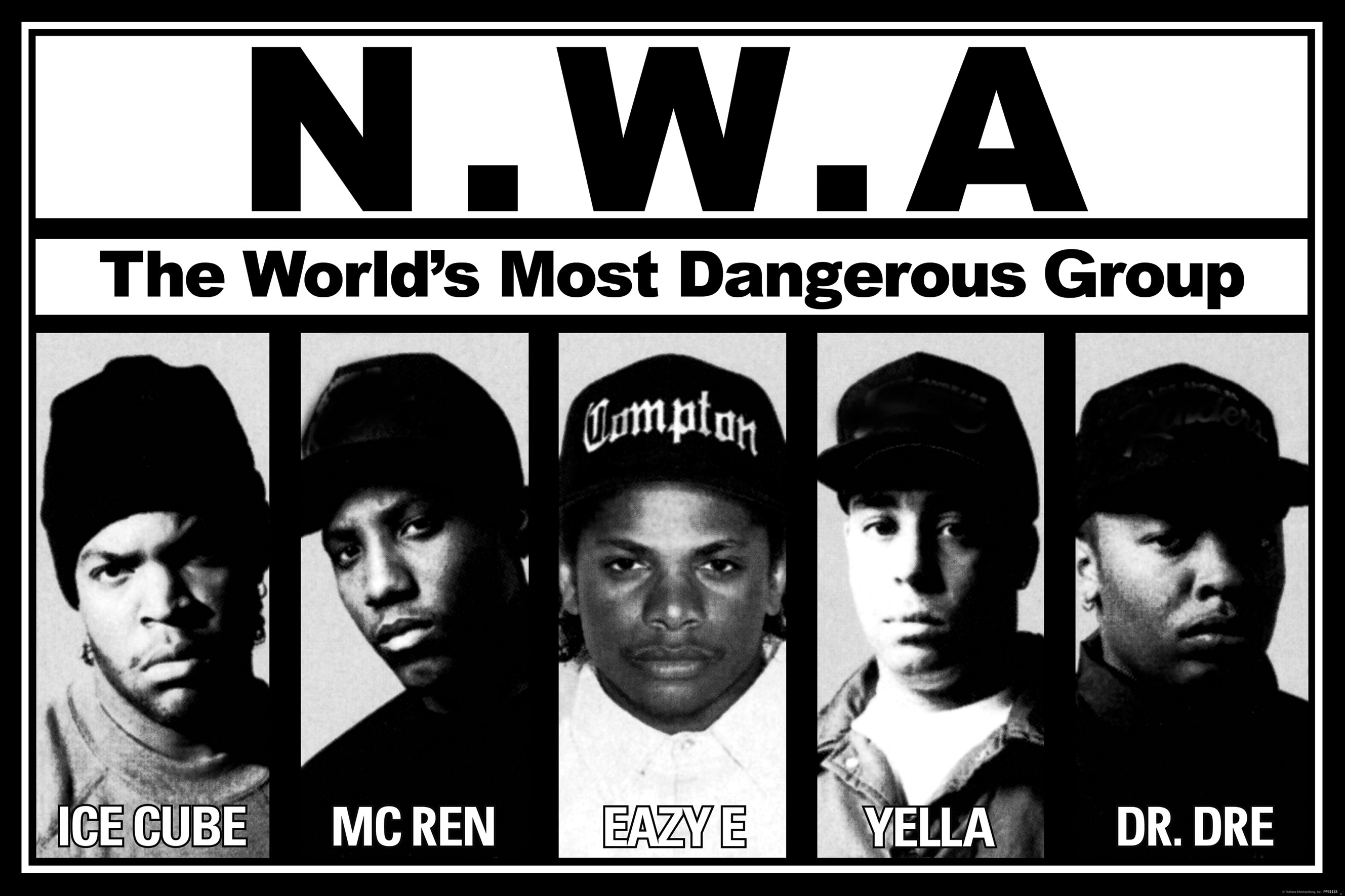 "Ice Cube Unveils N.W.A. Trailer, ""Straight Outta Compton"" [Video Alert]"