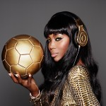 New Fashion Alert: Beats By Dre X Naomi Campbell 24 Carat Gold Headphones