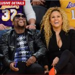 "Well Damn! Boxer Floyd Mayweather ""Grieving"" At The Lost of His Friend Rapper Earl Hayes at Lakers Game"