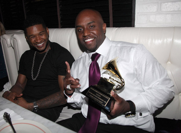 Rico Love and usher_
