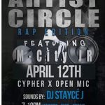 DojoLife Presents #ArtistCircle Cypher X Open Mic Event!