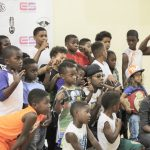 Trinidad James Host Celebrity Basketball Game & Sneaker Drive At Crenshaw High