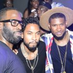 New Photo Alert: Miguel And Usher Host The 5th Annual Mark Pitts X Bystorm Entertainment BET Awards Party