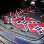 Racists Leave Confederate Flags Laying at Atlanta's Historic Ebenezer Church