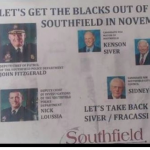 "Confederate Thinking? A Racist Flier Left In A Detroit Suburb Says: ""Let's Get The Blacks Out"""