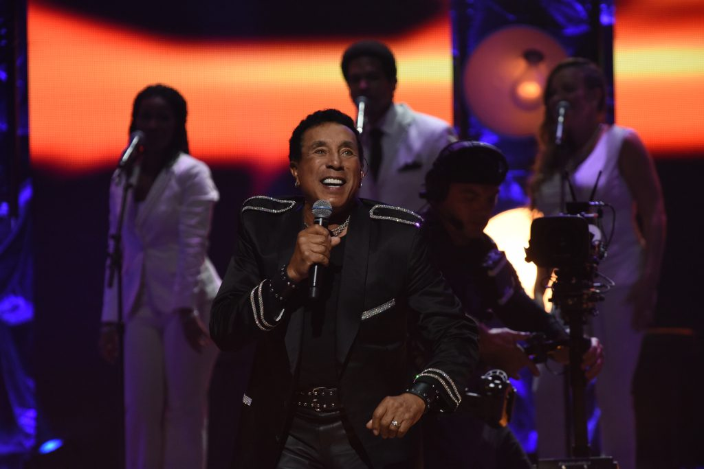 Smokey Robinson performs during the OWN At The Apollo Concert Series, held at the Apollo Theater in Harlem, New York, Monday, August 17, 2015. Photo by Jennifer Graylock-Oprah Winfrey Network