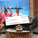 Giving Back! MC Lyte Grants $50,000 Scholarship To a Steve Harvey Mentoring Camp Grad