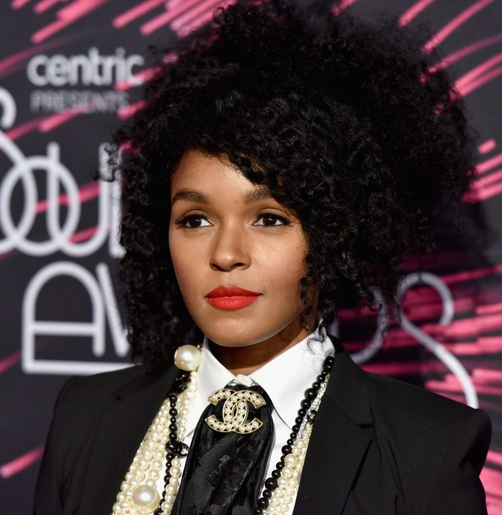 LAS VEGAS, NV - NOVEMBER 06: Recording artist Janelle Monae attends the 2015 Soul Train Music Awards at the Orleans Arena on November 6, 2015 in Las Vegas, Nevada. (Photo by Earl Gibson/BET/Getty Images for BET)